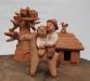 Вироби Федора Куркчі, керамічна іграшка
