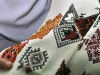 Samples embroidery village Spas Kolomiyskogo area