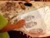 Traditional hand printing