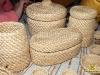 плетені вироби з кореня сосни