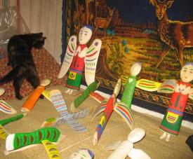 Вироби Івана Приходька, дерев'яна іграшка
