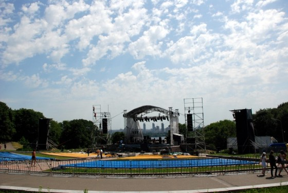 Головна сцена фестивалю