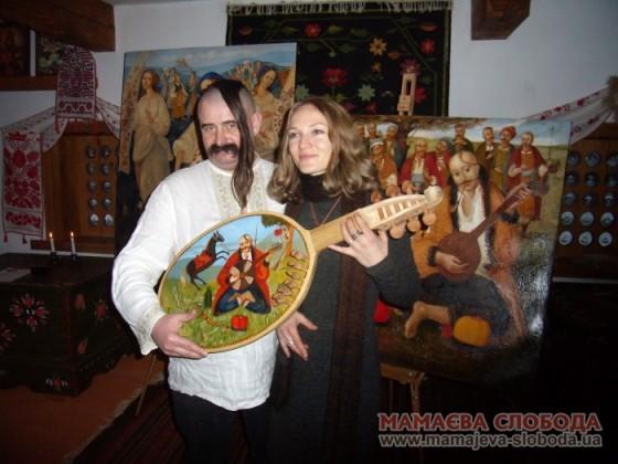 Костянтин Олійник та Катерина Косьяненко