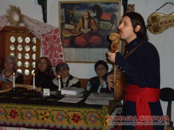 Тарас Компаніченко, кобзар, бандурист та лірник