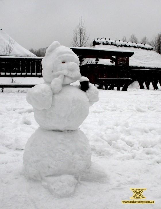 сніжна баба
