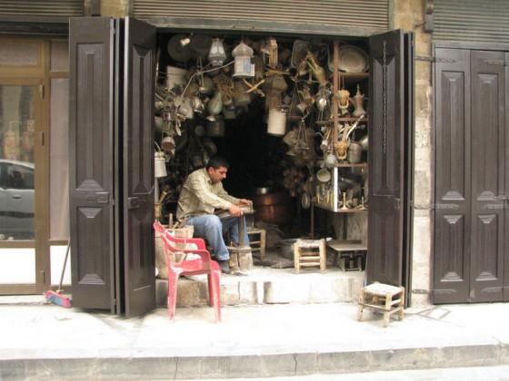 Крамниця в Сирії