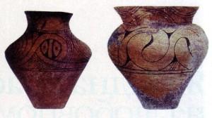 трипільський посуд