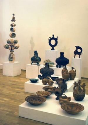 Вироби родини Сергія Спасьонова в Музеї українського народного декоративного мистецтва.