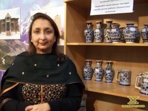Шарла Салім, дружина посла Пакистану в Україні