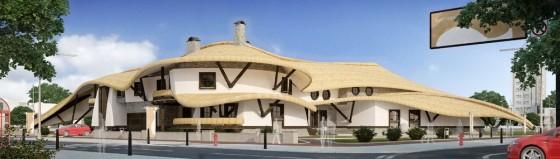 Будинок гончара. Архітектор Голуб Андрій