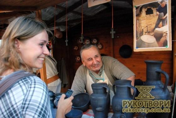 Зі словацьким гончарем