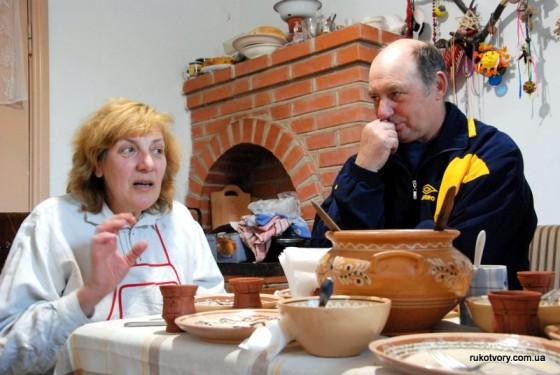 Ольга Жукова з чоловіком