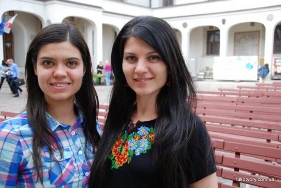 Євгенія та Катерина Шевчук з Вінниці три роки навчаються у Щецині