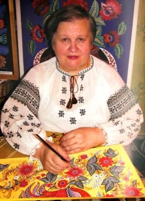 Людмила Вітковська, художниця
