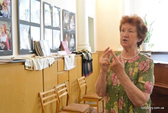Ірина Свйонтек, дослідниця вишивки Івано-Франківщини