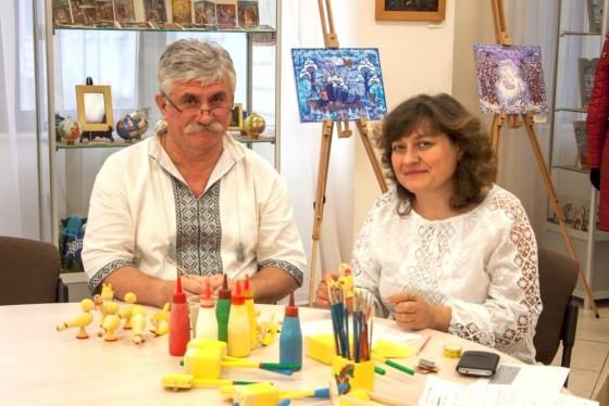 Семен Тлустий та Галина Шумило