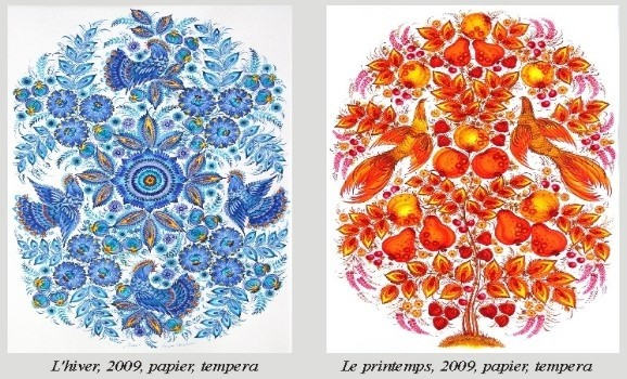 Твори українських митців з успіхом експонуються у Парижі