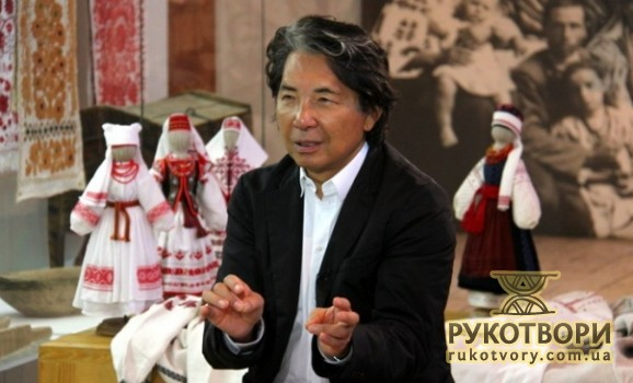 Kenzo Takada, a world famous designer, has visited Ivan Honchar Museum