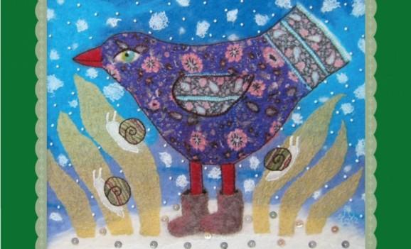 Виставка Євгенії Лебедєвої «Птаха у святковому вбранні»