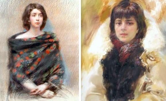 Виставка живопису та графіки Катерини Білетіної «Портрет дівчини»