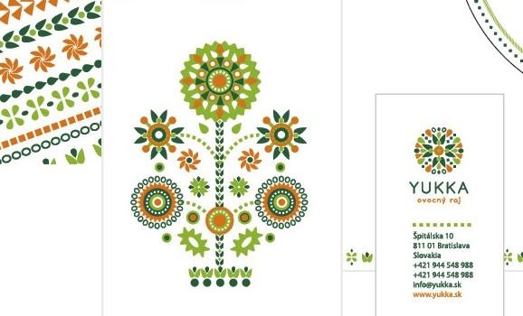 Folk motifs in works of modern designers