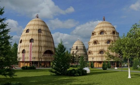 Готель у формі копиці сіна став переможцем всеукраїнського конкурсу дизайну