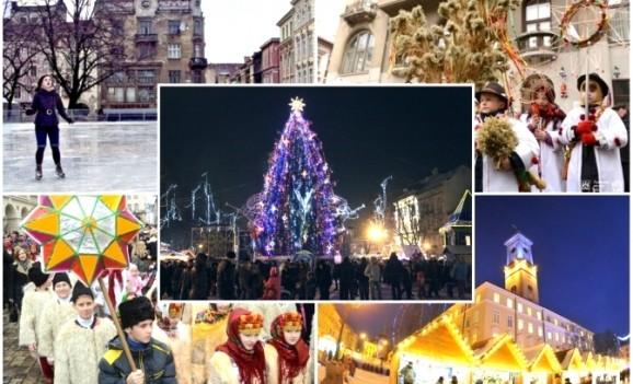 Топ-5 зимових розваг у Львові