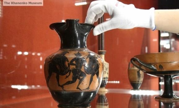 Унікальне античне мистецтво показують в київському музеї
