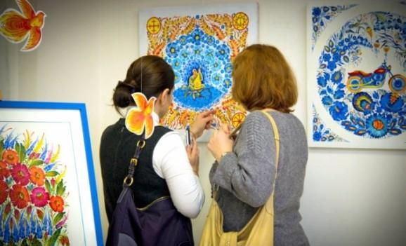 Виставка «Петриківка – душа України» в Центрі Української Культури та Мистецтва