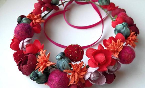 Творча майстерня «Куделя» (м.Чернігів) запрошує на заняття з вишивки, ткацтва та квітникарства