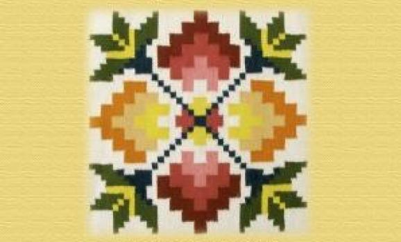 Виставка килимів Марії Вовкули та Валентини Ткач