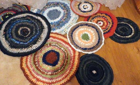 Майстер-клас з виготовлення круглих килимків