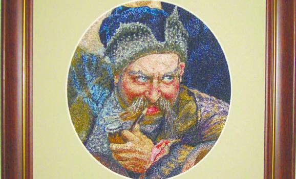 Виставка «Вишитий живопис Лідії Гончарук»