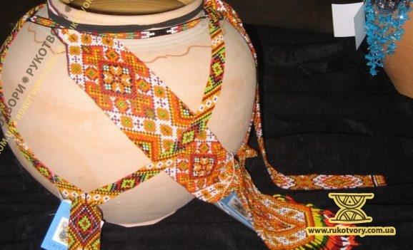 Марія Чулак: Навіть саме плетиво з бісеру слугує за оберіг