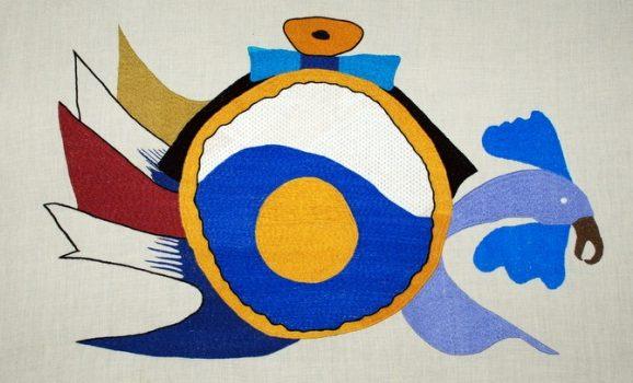 Авангардний живопис у вишивці