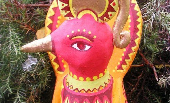 Виставка керамічних звірят та текстильних ляльок