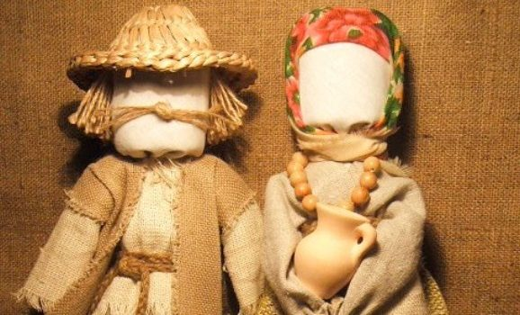 Виготовлення ляльки-мотанки з Неллі Клаудіо