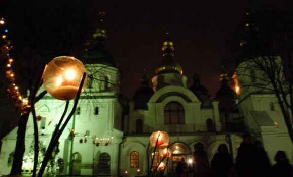 На Водохреща до Софії Київської