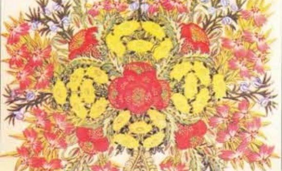 Декоративний живопис Параски Хоми