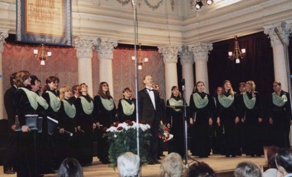 Концерт хорового співу в Музеї Гончара