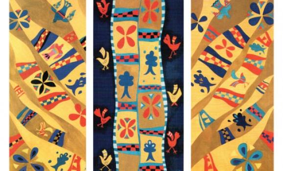 Виставка малярства на тканині, гобеленів та живопису Лесі Майданець