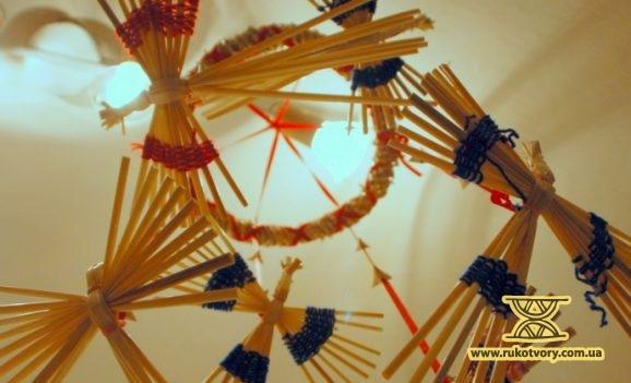 Традиційна символіка, втілена у соломі