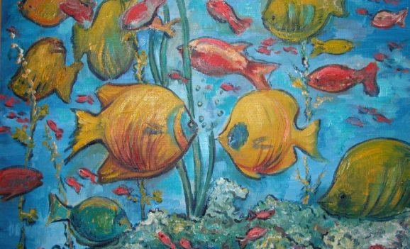 Виставка дитячих творів образотворчого мистецтва