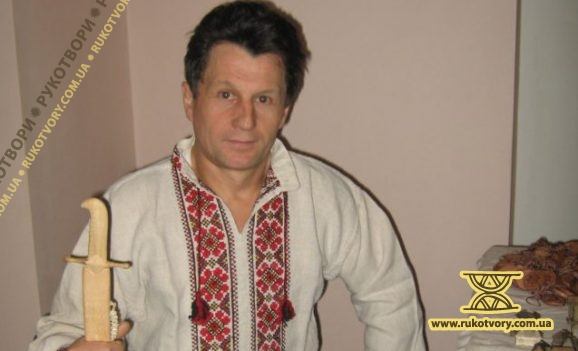 Сергій Святний: У мене є така шабля, як в козака Мамая