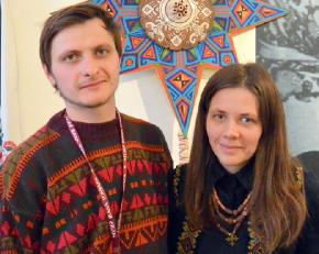 Марина Галуза та Ярослав Бабяк