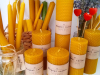 Свічки з натурального воску Ірини Віан