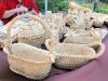 Тетяна Козлова, плетені кошики