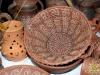 плетений посуд з глини