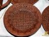 плетений з глини посуд