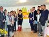 Галина Назаренко розмалювала стіну в  Українському культурному центрі в Парижі